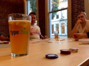 Typethink Poker and Beer
